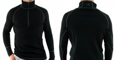 Woolx Blizzard merino quarter-zip top