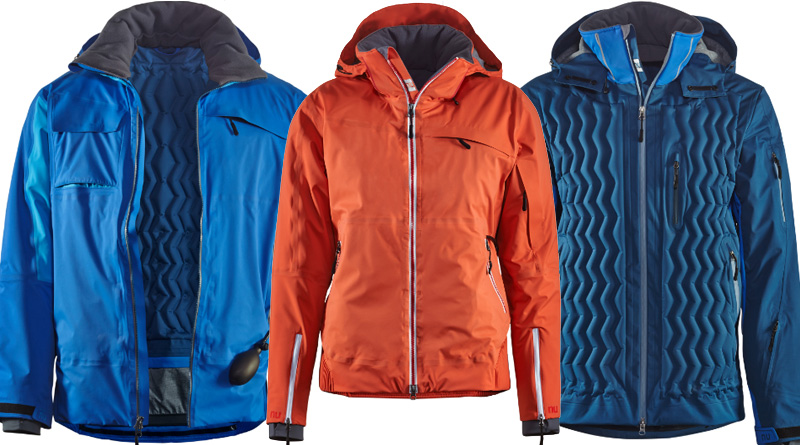 NuDown Diamond Peak Jacket and NuDown Squaw Peak Jacket