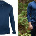 Showers Pass Bamboo-Merino Henley shirt