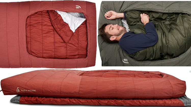 Sierra Designs Frontcountry Bed - new Sierra Designs sleeping bag