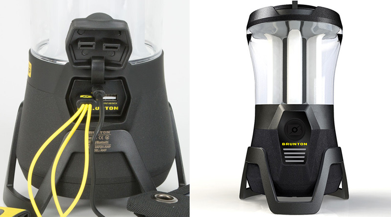 Brunton Lightwave Amp camping lamp lantern Bluetooth