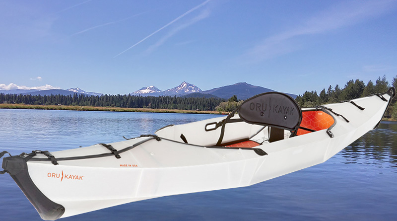 Oru Beach kayak - collapsible kayak