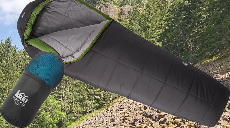 Rei trail pod sleeping 29 bag review cold outdoorsman for Google sleep pod price