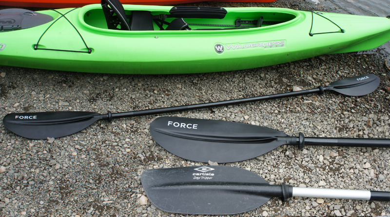 Quest Force fiberglass kayak paddle - Dick's Sporting Goods kayak paddle
