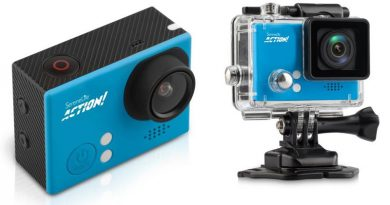 Pyle High-Speed 4K HD Action Camera