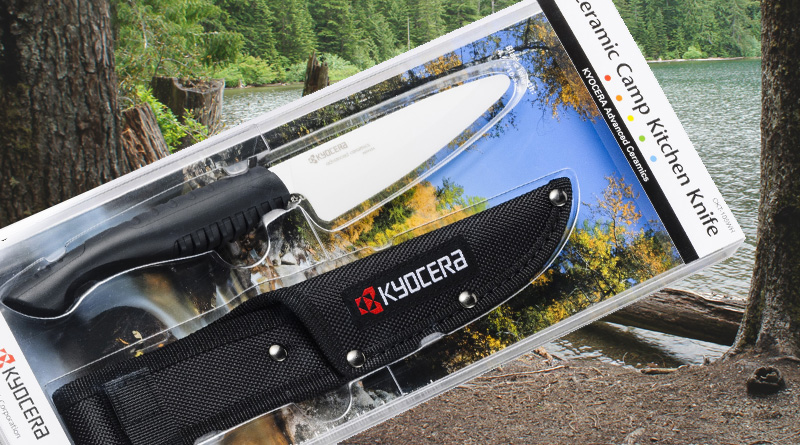 Kyocera ceramic camp kitchen knife