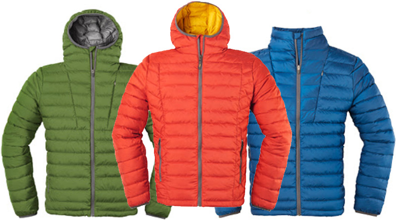 Sierra Designs insulated jackets
