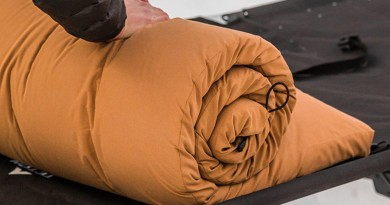 How to Stay Warm Camping - Teton Sports sleep pad